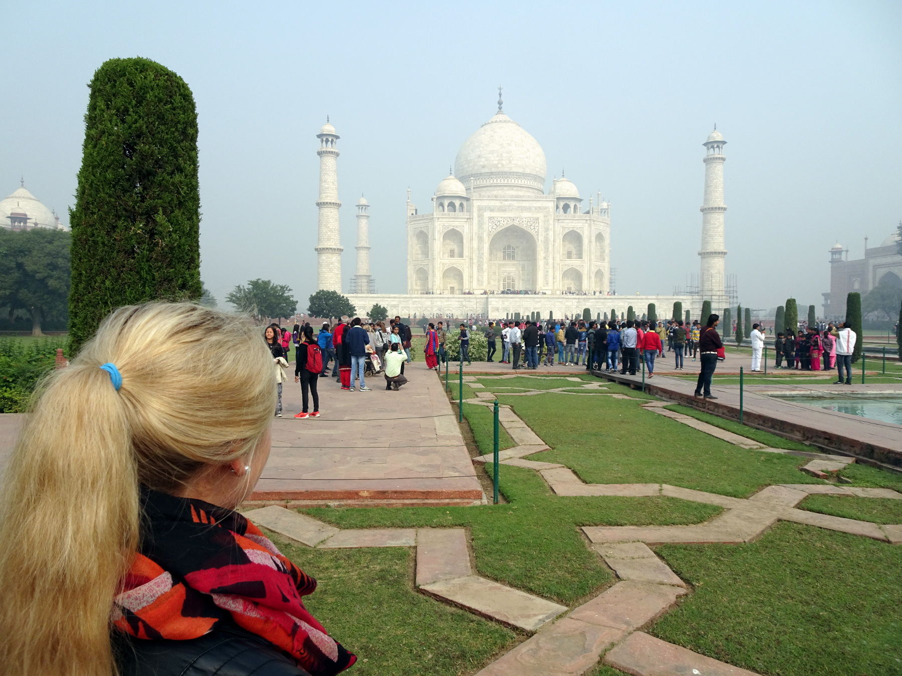 taj mahal in agra applethree personal blog about food travel life. Black Bedroom Furniture Sets. Home Design Ideas